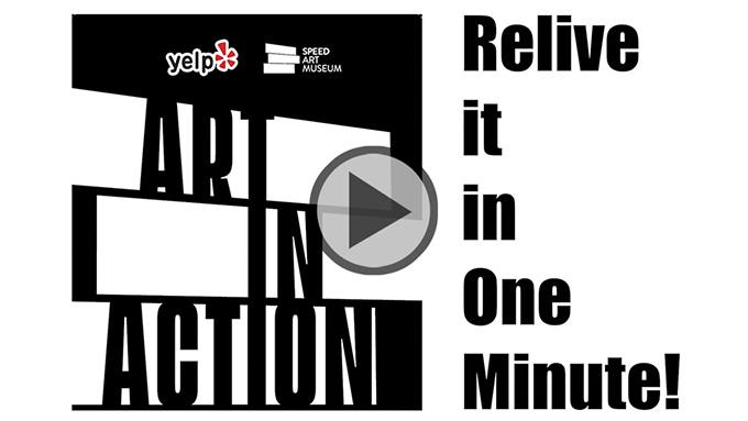Highlight Video for Art In Action | Yelp Louisville | Speed Art Museum | November 2018